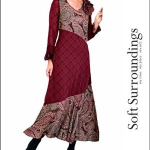 Soft Surroundings NEW Cottage Core Dress, Medium